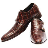 ELETE Handcrafted Double Strap Monks