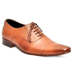 ELETE Handmade Plain Toe Oxford Style