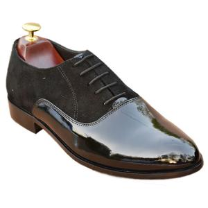ELETE Patent Leather Handmade Oxford