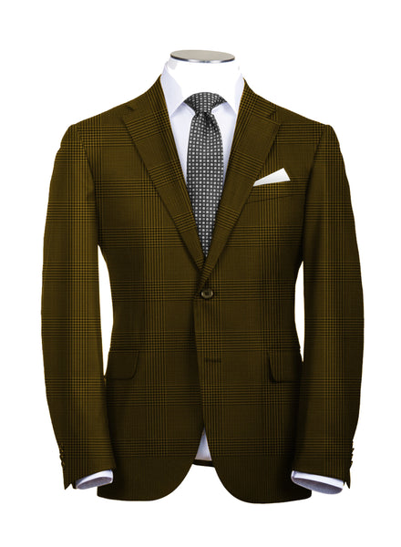 Brown Plaid Suit