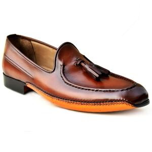 ELETE Hand Made Loafers Fold Sole Shoes