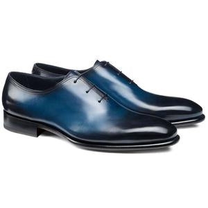 ELETE Hand Made Oxford Patina Shoes