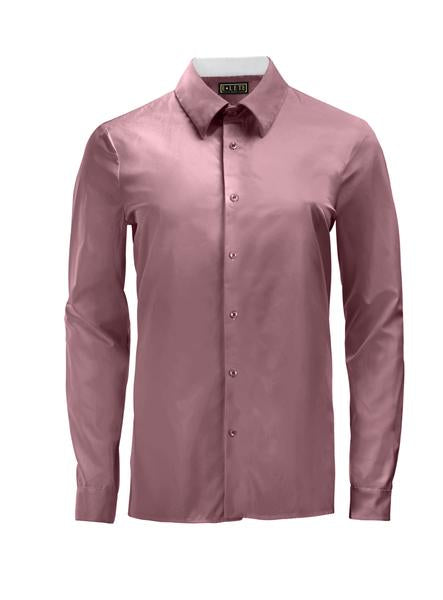 Magenta Athlete-Cut Dress Shirt