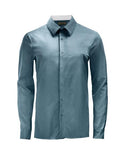 Teal Athlete-Cut Dress Shirt