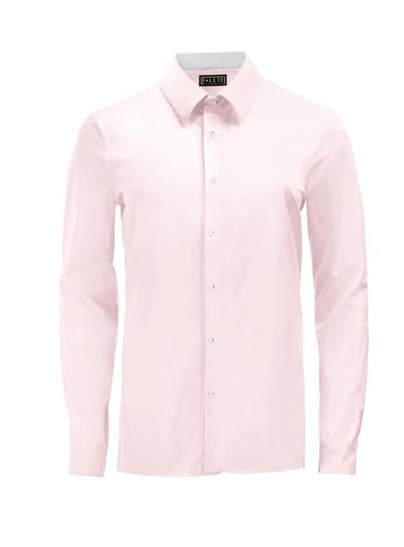 Light Pink Athlete-Cut Dress Shirt