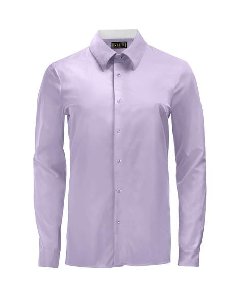 Lavender Athlete Fit Dress Shirt