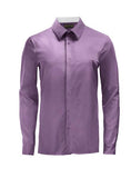Purple Athlete-Cut Dress Shirt