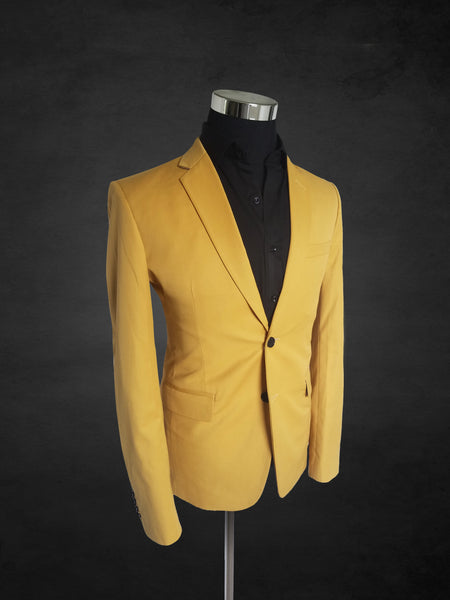 Mustard Yellow Suit