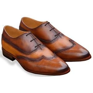 ELETE Hand Painted Oxford Leather Shoes