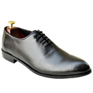 ELETE Handmade Plain Men Shoes Oxford Style
