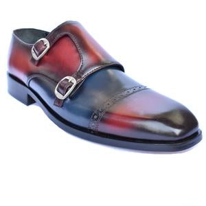 ELETE Handmade Multiple Shade Monk Strap