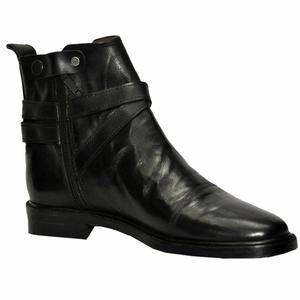 ELETE Handmade Leather Monk Strap Men Boots