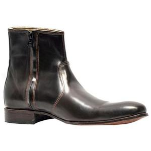 ELETE Handmade Leather Boots in Cobra Style