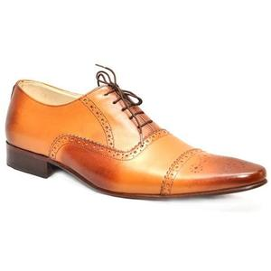 ELETE Handmade Oxford Style Leather Shoes