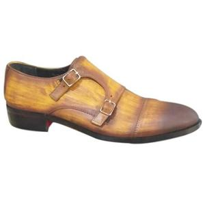 ELETE Handpainted and Crafted Monk Loafers