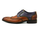 ELETE Handmade Multicolor Oxford Shoes