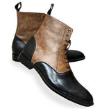 ELETE Handmade Oxford Style Men Chukka Boot