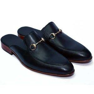 ELETE Hand Crafted Slip-Ons Leather Shoes