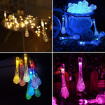 guirlande lumineuse gouttes