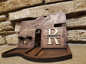 Personalized Desk Docking Station And Tray - Gifts For Him & Her