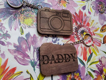 Load image into Gallery viewer, Camera Keychain-Father's Day Keychain