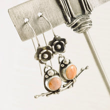 Load image into Gallery viewer, AOK - Coral and Twigs - Earrings