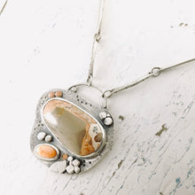 Load image into Gallery viewer, AOK - Blowing Dandelions - Necklace