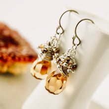 Load image into Gallery viewer, TN Cappuccino Crystal Earrings