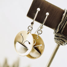 Load image into Gallery viewer, AOK - Potted Flowers Earrings (Brass)