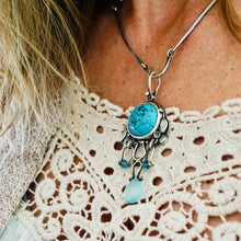 Load image into Gallery viewer, AOK - A Turquoise Kind of Day - Necklace