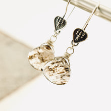 Load image into Gallery viewer, TN Rutilated Quartz Earrings (short)