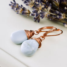 Load image into Gallery viewer, TN Angelite Earrings