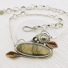 Load image into Gallery viewer, AOK - Labradorite Gardens - Necklace