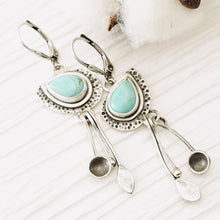 Load image into Gallery viewer, AOK - Turquoise My World - Earrings