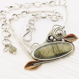 AOK - Labradorite Gardens - Necklace