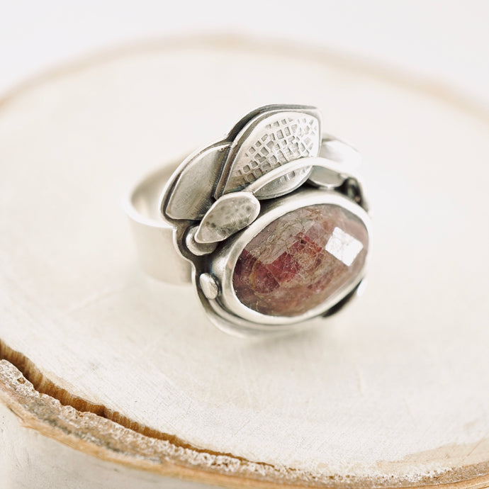 ABJ - Ruby Gardens Ring (Adjustable Size: 7 - 7.5)