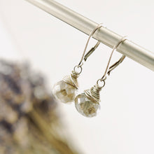 Load image into Gallery viewer, TN Labradorite Drop Earrings