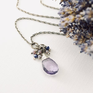 TN Amethyst Reflections Necklace