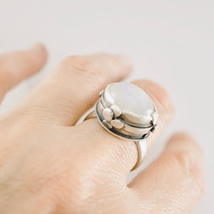 AOK - La Luna Statement Ring (Size: 8-1/4)