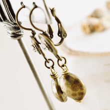 Load image into Gallery viewer, TN Brass Bling Earrings