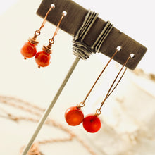 Load image into Gallery viewer, TN Coral Dreams Earrings (long)