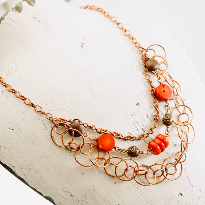 TN Coral Dreams Necklace