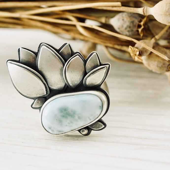 Big Joy - Big Larimar Ring