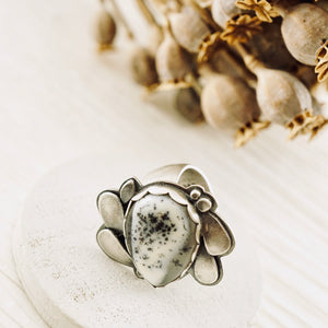 Big Joy - Dentritic Agate Ring 01