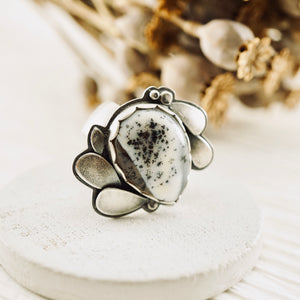 Big Joy - Dendritic Agate Ring