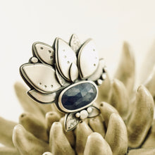 Load image into Gallery viewer, Big Joy - Sapphire Ring 02