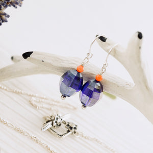 TN Lavender & Coral Necklace