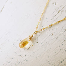 Load image into Gallery viewer, TN Citrine Dreams Necklace