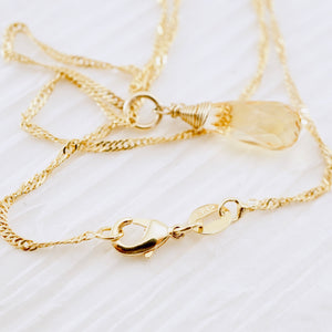 TN Citrine Dreams Necklace