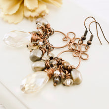 Load image into Gallery viewer, TN Gyspy Queen Earrings (champagne)